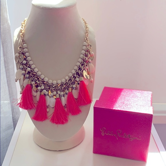 Lilly Pulitzer Summertide Statement Necklace